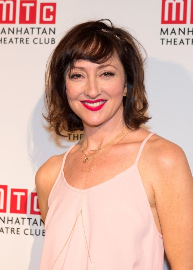 <p>Carmen Cusack is on hand to sing from <em>Bright Star</em>.</p><br />(© Allison Stock)
