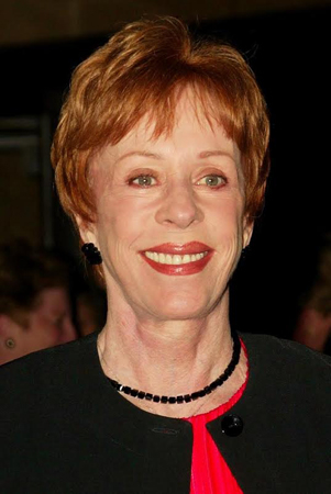 <p>Carol Burnett, <em>Love Letters</em> at the Brooks Atkinson Theatre.</p><br />(© Joseph Marzullo/Retna)