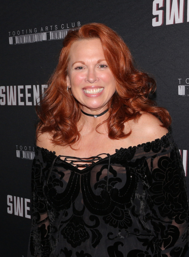 <p>Carolee Carmello will join the <em>Sweeney Todd</em> company in April as Mrs. Lovett.</p><br />(© David Gordon)