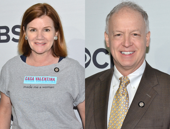 <p><em>Casa Valentina</em> nominees include Mare Winningham and Reed Birney.</p><br />(© David Gordon)
