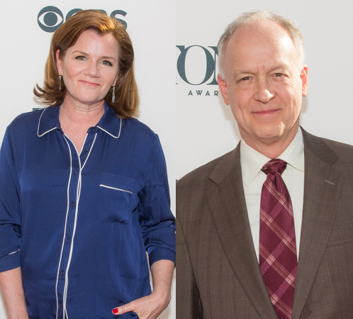 <p><em>Casa Valentina</em> stars Mare Winningham and Reed Birney made an appearance. </p><br />(© Seth Walters)
