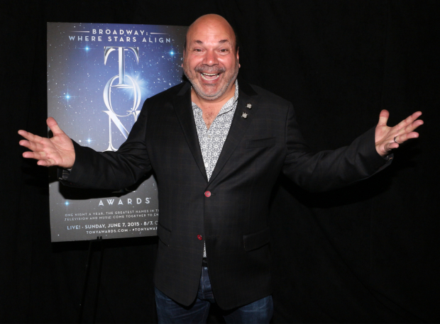 <p>Casey Nicholaw, Best Direction of a Musical and Best Choreography of a Musical nominee for <em>Something Rotten!</em></p><br />(© David Gordon)