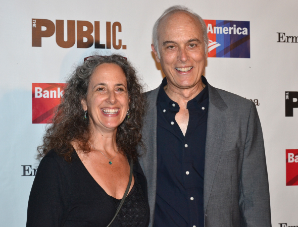 <p>Cast member Dale Place (right) spends the evening with his lovely wife.</p><br />(© David Gordon)