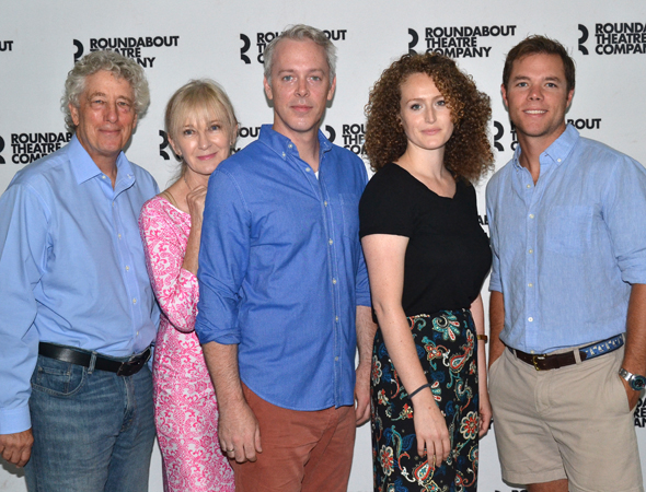 <p>Cast members Bill Buell, Caroline Lagerfelt, Tim McGeever, Brenda Meaney, and Philip Mills.</p>