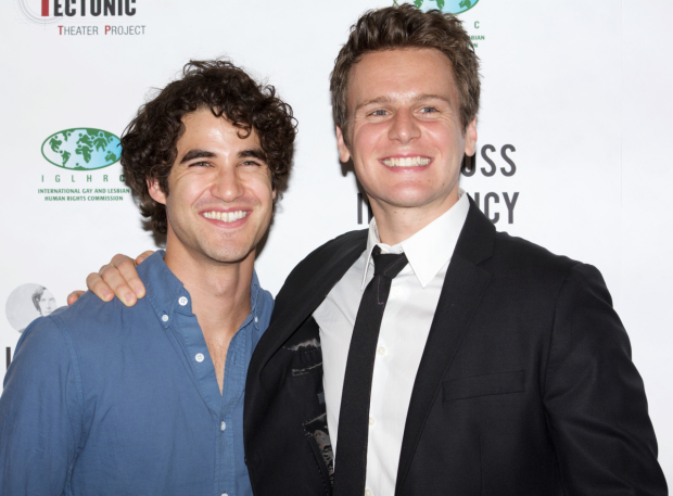 <p>Cast members of the reading also included Broadway favorites Darren Criss and Jonathan Groff.</p><br />(© Kristin Goehring)