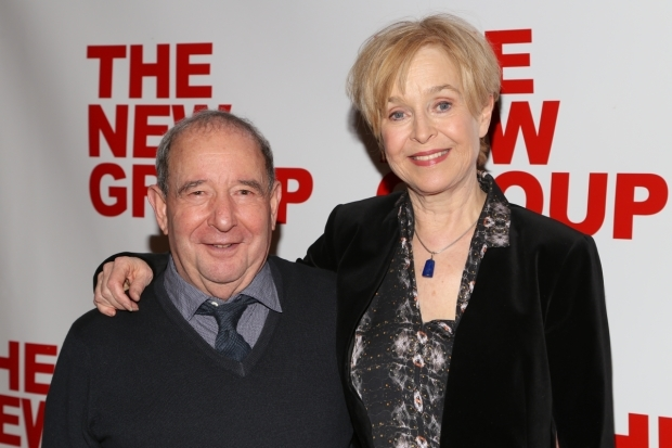 <p>Castmates and real life couple Michael Tucker and Jill Eikenberry pose for a photo.</p><br />(© Tricia Baron)