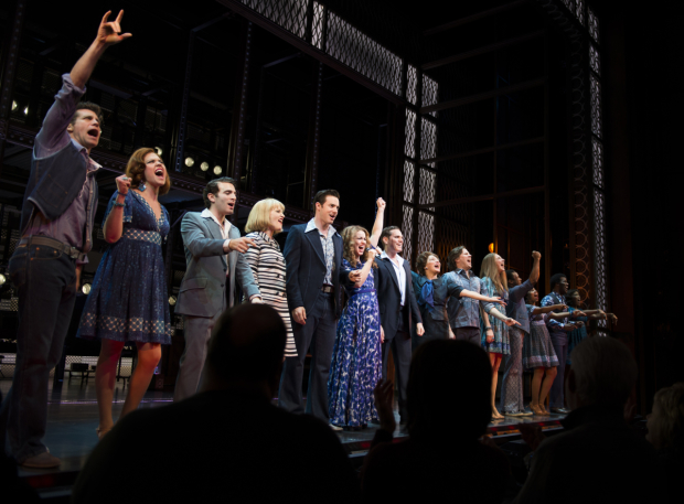 <p>Catch <em>Beautiful — The Carole King Musical</em> at the Stephen Sondheim Theatre.</p><br />(© Allison Stock)