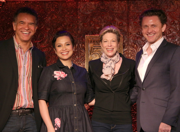 <p>Catch Brian Stokes Mitchell, Lea Salonga, Marin Mazzie, and Jason Danieley at Feinstein&#39&#x3B;s/54 Below.</p><br />(© David Gordon)