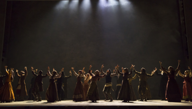 <p>Catch <em>Fiddler at the Roof</em> at the Broadway Theatre.</p><br />(© Joan Marcus)