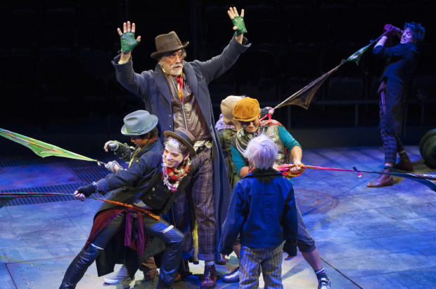 <p>Catch Jeff McCarthy as Fagin in <em>Oliver!</em> at Arena Stage.</p><br />(© Margot Schulman)