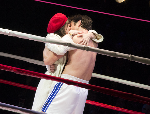 <p>Catch Rocky and Adrian&#39&#x3B;s big smooch eight times a week at the Winter Garden Theatre.</p><br />(© David Gordon)