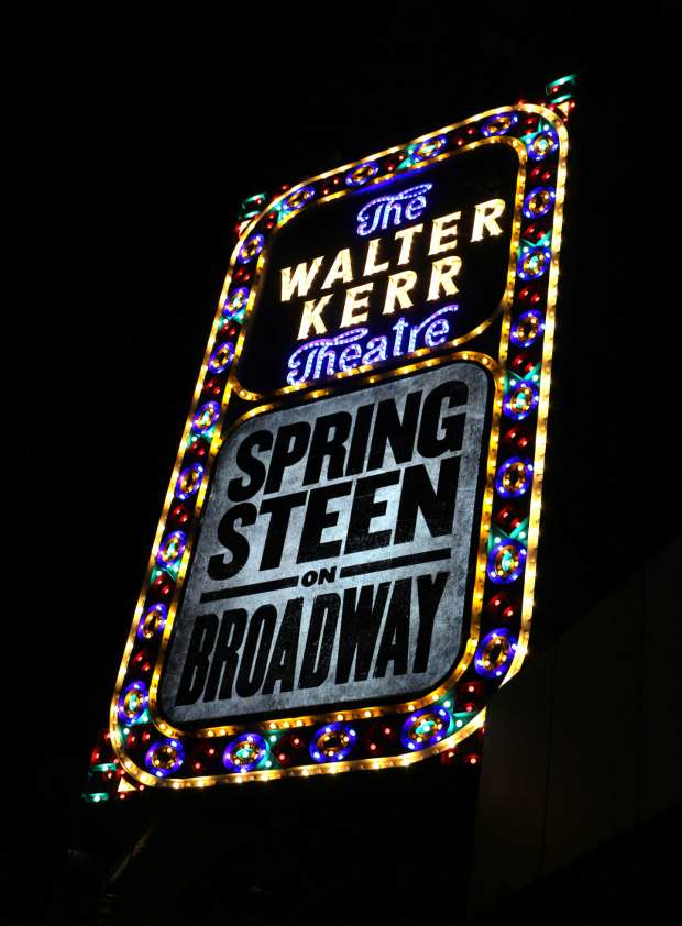 <p>Catch <em>Springsteen on Broadway</em> through February 3.</p><br />(© David Gordon)