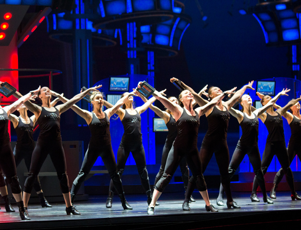 <p>Catch the legendary Rockettes in <em>Hearts and Lights</em> at Radio City Music Hall beginning March 27.</p><br />(© David Gordon)