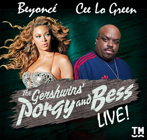 <p><strong>Cee Lo and Beyoncé in <em>Porgy &amp&#x3B; Bess</em> </strong><br/>