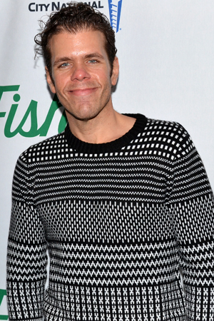 <p>Celebrity gossip blogger Perez Hilton smiles for the camera.</p><br />(© David Gordon)