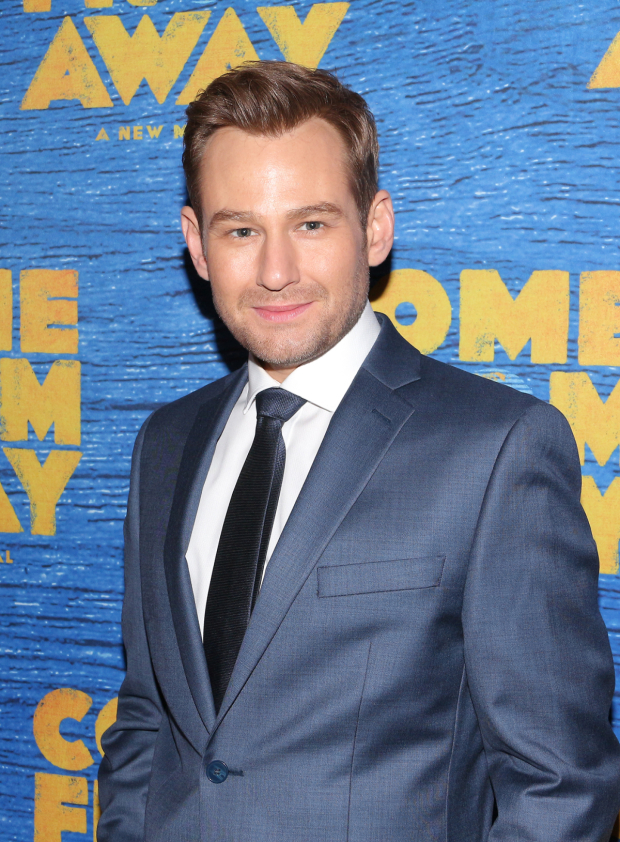 <p>Chad Kimball returns to Broadway in <em>Come From Away</em>.</p><br />(© David Gordon)