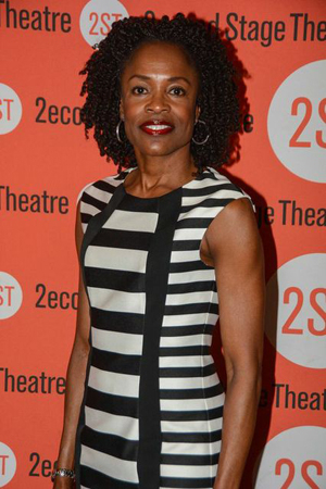 <p>Charlayne Woodard completes the cast as Marge Hackett.</p><br />(© Nessie Nankivell)