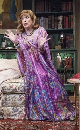 <p>Charles Busch stars in the Primary Stages production of his new play, <em>The Tribute Artist</em>.</p><br />(© James Leynse)