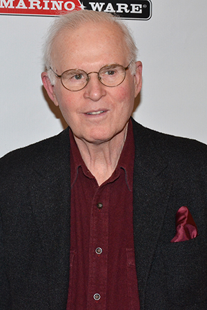 <p>Charles Grodin is on hand to see the latest Broadway show.</p><br />(© David Gordon)