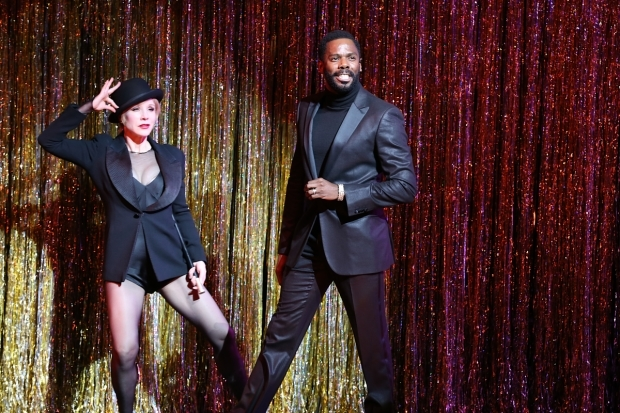 <p>Chicago alums Charlotte d&#39&#x3B;Amboise and Colman Domingo honored Kander.</p><br />(© Tricia Baron)