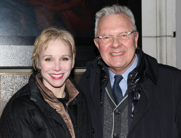 <p><em>Chicago</em> cohorts Charlotte d&#39&#x3B;Amboise and Walter Bobbie are each other&#39&#x3B;s dates for the show.</p><br />(© David Gordon)