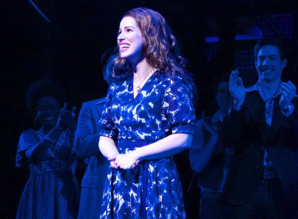 <p>Chilina Kennedy takes her very first bow as Carole King in Broadway&#39&#x3B;s <em>Beautiful — The Carole King Musical</em>.</p><br />(© Kristin Goehring)