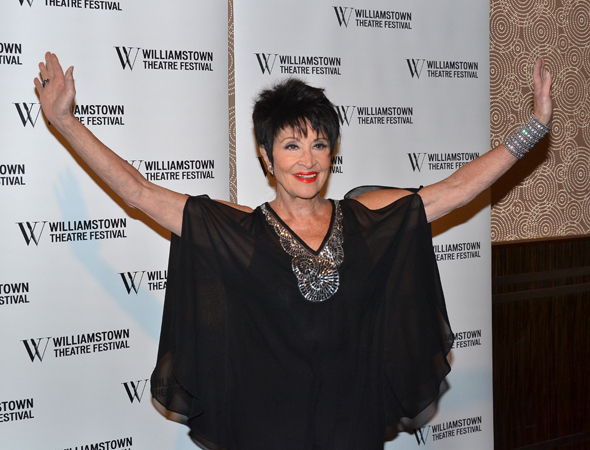 <p>Chita Rivera forms a &quot&#x3B;W&quot&#x3B; for Williamstown with her arms.</p><br />(© David Gordon)