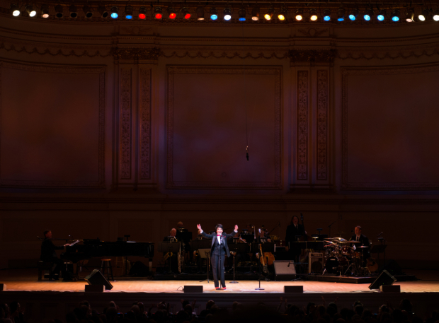 <p>Chita Rivera performs on the Carnegie Hall stage.</p><br />(© Allison Stock)