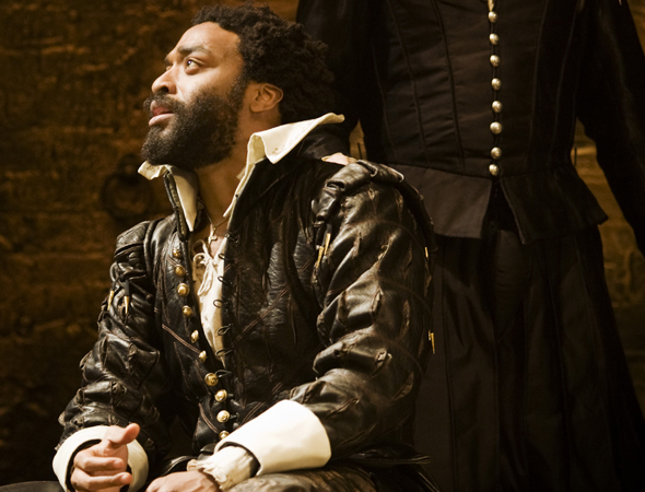 <p>Chiwetel Ejiofor (<em>12 Years a Slave</em>) won acclaim and an Olivier Award for his 2007 performance as Othello at the Donmar Warehouse.</p><br />(© Johan Persson)
