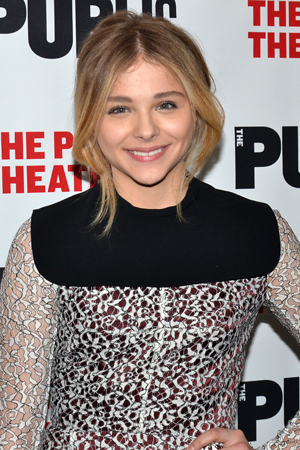 <p>Chloë Grace Moretz leads the company of <em>The Library</em> as Caitlin Gabriel, a young woman caught in the aftermath of a school shooting.</p><br />(© David Gordon)