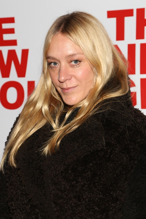 <p>Chloë Sevigny stops a moment for the camera.</p><br />(© Tricia Baron)
