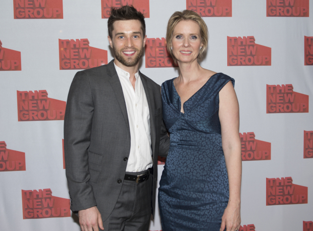 <p>Choreographer Paul McGill joins his director, Cynthia Nixon, for a snapshot.</p><br />(© Allison Stock)