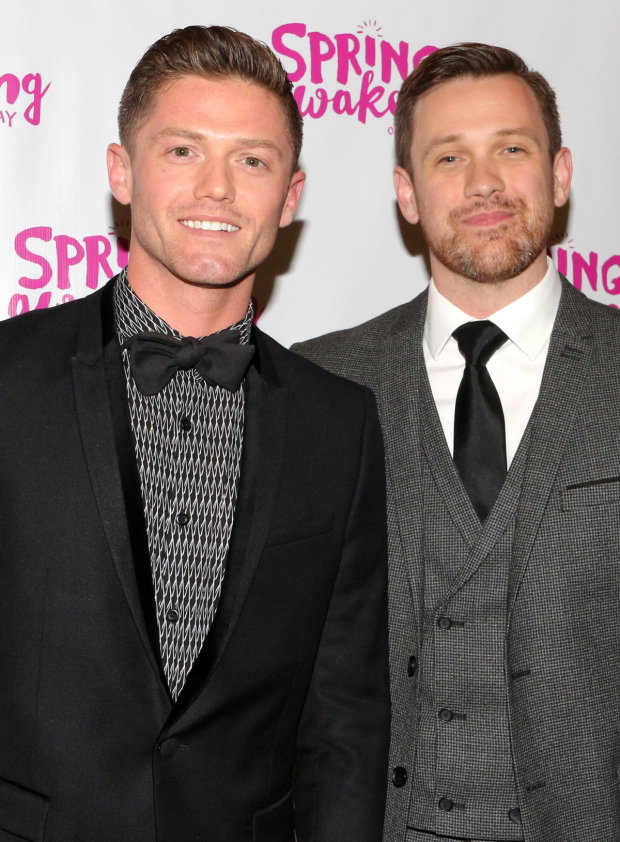 <p>Choreographer Spencer Liff and director Michael Arden are the men who shepherded <em>Spring Awakening</em> back to the Great White Way.</p><br />(© David Gordon)