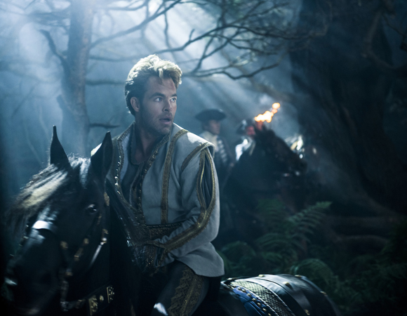 <p>Chris Pine is looking quite charming as Prince Charming.</p><br />(© Disney Enterprises, Inc.)