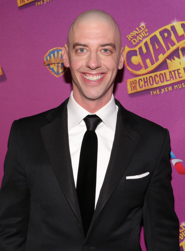 <p>Christian Borle heads the cast as Willy Wonka.</p><br />(© David Gordon)