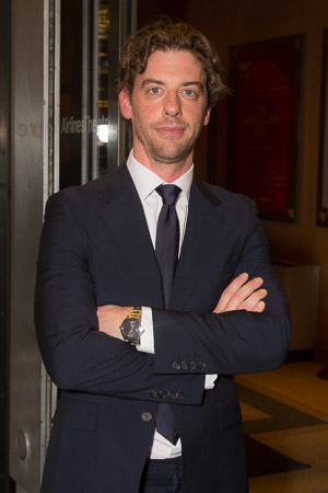 <p>Christian Borle of <em>Smash</em> fame is ready for a Broadway show.</p><br />(© Seth Walters)