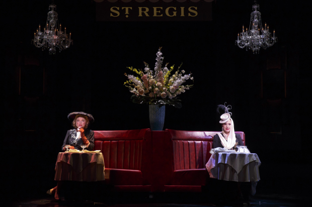 <p>Christine Ebersole and Patti LuPone play bitter rivals in the cosmetics industry.</p><br />(© Joan Marcus)