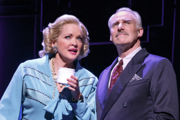 <p>Christine Ebersole is joined in the company by John Dossett, who takes on the role of Tommy Lewis.</p><br />(© Joan Marcus)