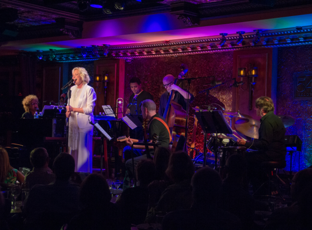 <p>Christine rocks the house with her rendition of &quot&#x3B;Revolutionary Costume.&quot&#x3B; </p><br />(© Seth Walters)