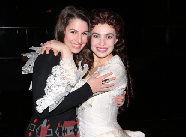 <p>Christines Rachel Zatcoff and Julia Udine are thrilled to be part of the occasion.</p><br />(© David Gordon)