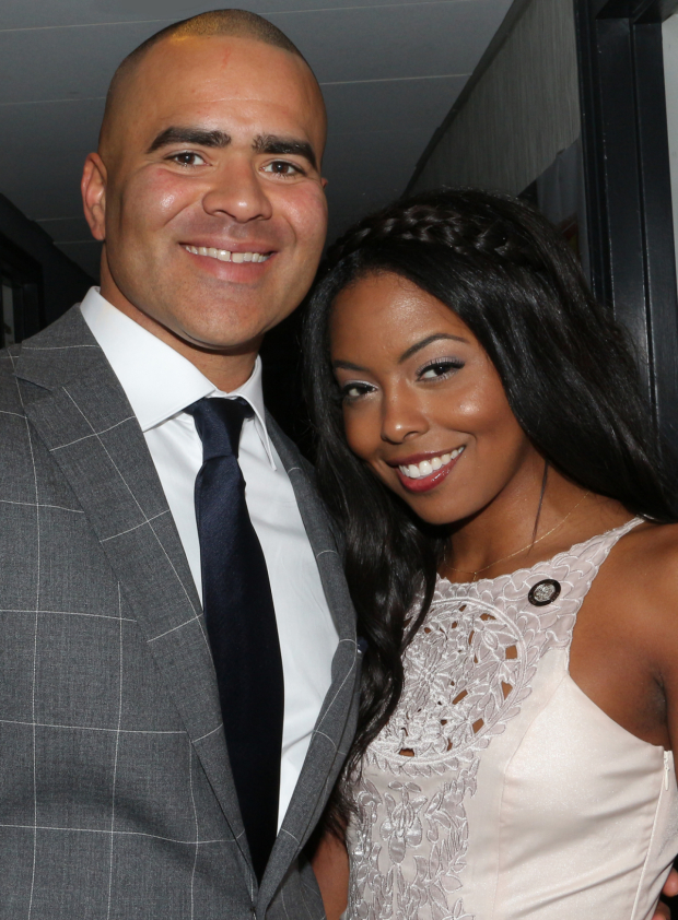 <p>Christopher Jackson and Adrienne Warren are both Tony first-timers for their performances in <em>Hamilton</em> and <em>Shuffle Along</em>, respectively.</p><br />(© David Gordon)