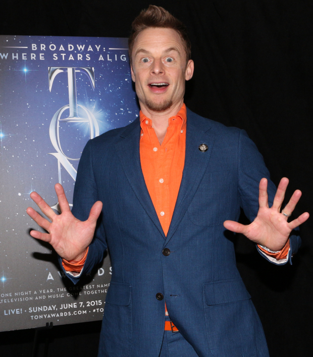 <p>Christopher Wheeldon, Best Direction and Best Choreography nominee for <em>An American in Paris</em>.</p><br />(© David Gordon)
