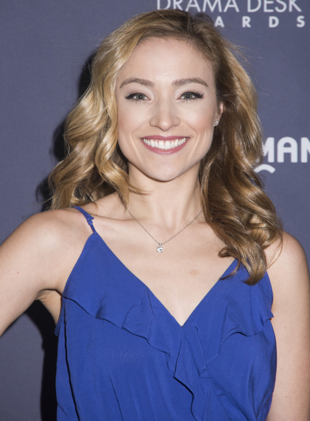 <p>Christy Altomare, nominee for <em>Anastasia</em>.</p><br />(© Monica Simoes)