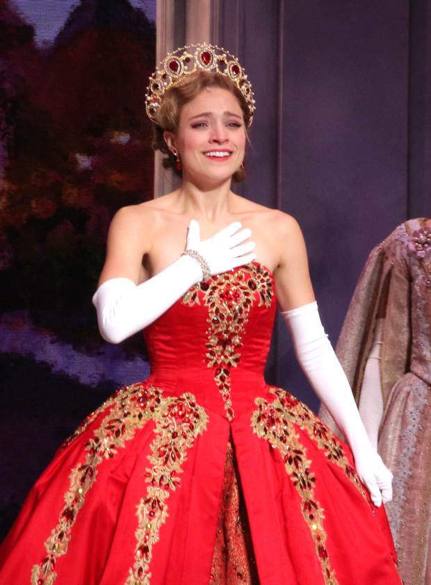 <p>Christy Altomare stars as Anastasia.</p><br />(© David Gordon)