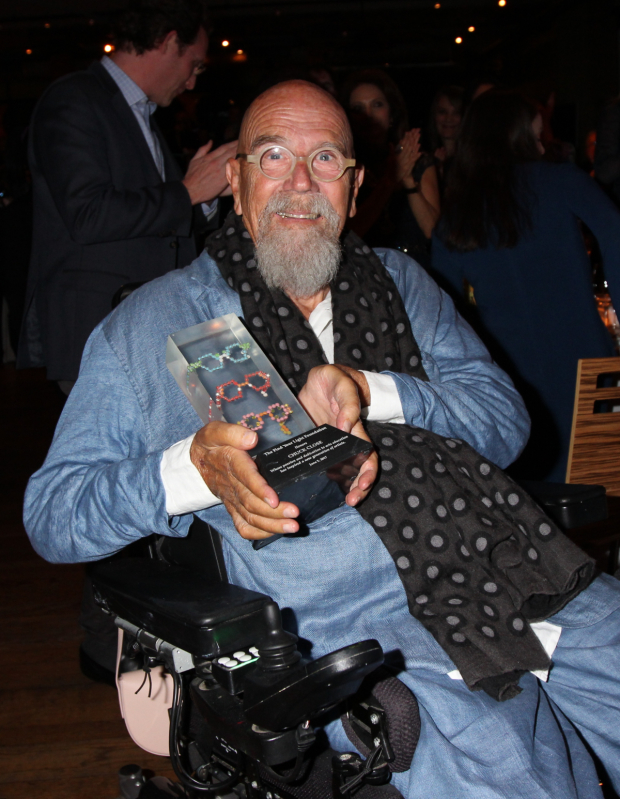 <p>Chuck Close was honored.</p><br />(© Henry McGee)