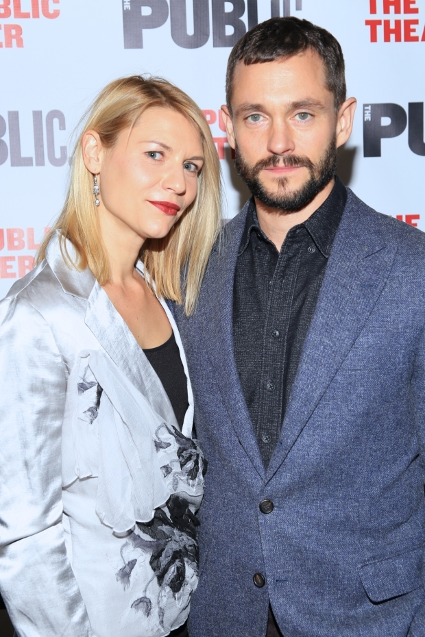 <p>Claire Danes, recently seen in the Public&#39&#x3B;s <em>Dry Powder</em>, with Hugh Dancy.</p><br />(© Tricia Baron)