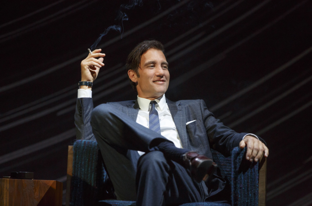 <p>Clive Owen stars as Deeley in the Broadway revival of Harold Pinter&#39&#x3B;s <em>Old Times</em> at the American Airlines Theatre.</p><br />(© Joan Marcus)