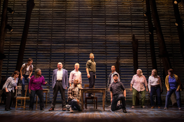 <p><em>Come From Away</em> opens March 12.</p><br />(© Matthew Murphy)