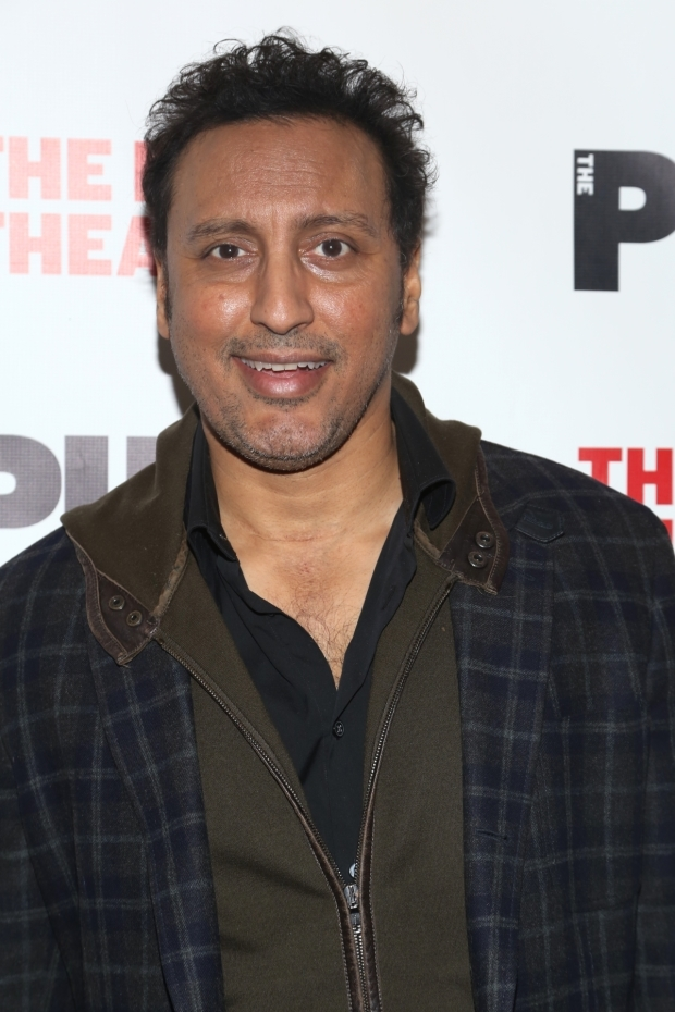 <p>Comedian, actor, and writer Aasif Mandvi made an appearance.</p><br />(© Tricia Baron)