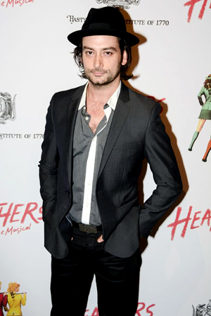 <p>Constantine Maroulis is always a welcome presence at opening nights.</p><br />(© Nessie Nankivell)